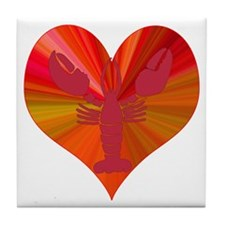 Lobster Love Tile Coaster