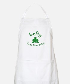 Left Handed Leap Year Apron