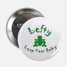 """Left Handed Leap Year 2.25"""" Button"""