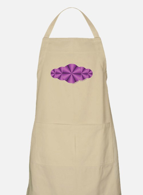 Purple Illusion Apron
