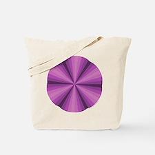 Purple Illusion Tote Bag