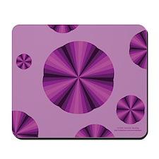 Purple Illusion Mousepad