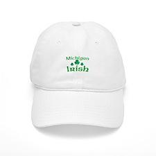 Michigan Irish Shamrocks Baseball Cap