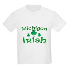 Michigan Irish Shamrocks T-Shirt