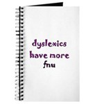 dyslexics have more fnu Journal
