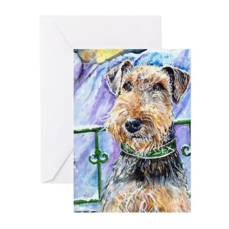 Putter2 Greeting Cards