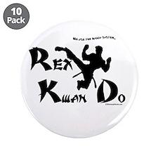 """REX KWAN DO 3.5"""" Button (10 pack)"""