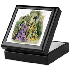 PARIS FASHION 1866 Keepsake Box
