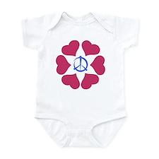 Imagine Peace & Love Infant Bodysuit
