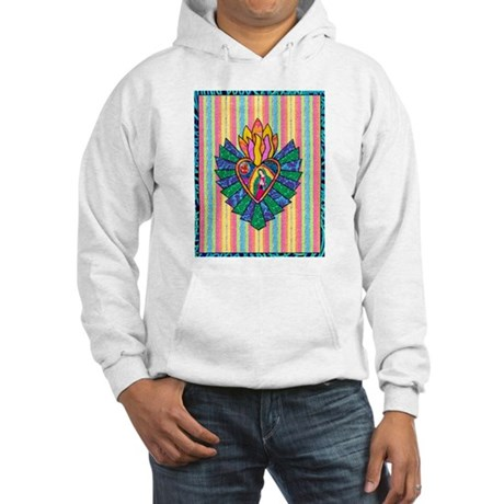 Flaming Ray Mary Hooded Sweatshirt