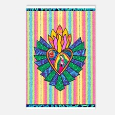 Flaming Ray Mary Postcards (Package of 8)