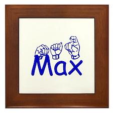 Max Framed Tile