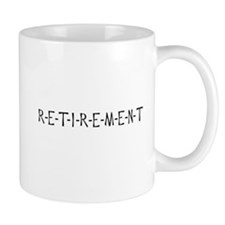 Retirement Spells Relief 2-Sided Small Mug