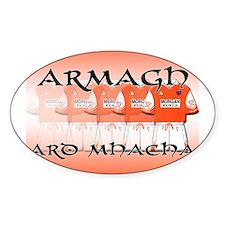 Armagh - Ard Mhacha Oval Decal