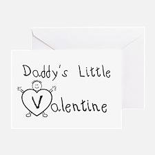 Daddy's Valentine (Boy) Greeting Card