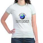 World's Coolest TATTOOIST Jr. Ringer T-Shirt