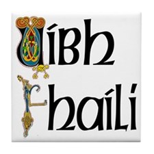 Offaly (Gaelic) Tile Coaster