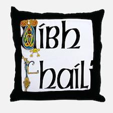 Offaly (Gaelic) Throw Pillow
