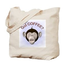 Got Coffee? Monkey Tote Bag