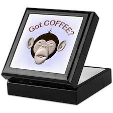 Got Coffee? Monkey Keepsake Box