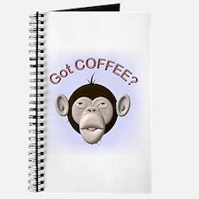 Got Coffee? Monkey Journal