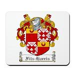 Fitz-Harris Family Crest Mousepad