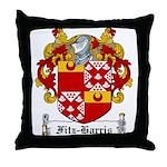 Fitz-Harris Family Crest Throw Pillow