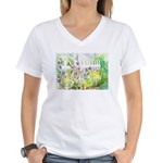 Garden Gate Women's V-Neck T-Shirt