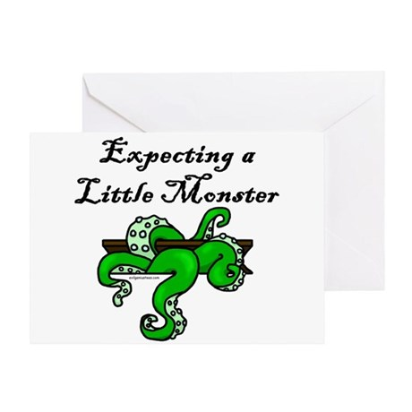 expectingmonster Greeting Cards