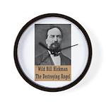 Wild Bill Hickman Wall Clock