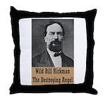 Wild Bill Hickman Throw Pillow