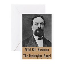 Wild Bill Hickman Greeting Cards (Pk of 20)
