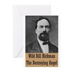 Wild Bill Hickman Greeting Cards (Pk of 10)