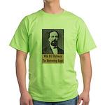 Wild Bill Hickman Green T-Shirt