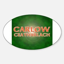 Everything Carlow Oval Decal