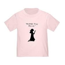 Please, Trey, Please Infant Girl T-Shirt