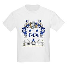 McAuliffe Family Crest Kids T-Shirt