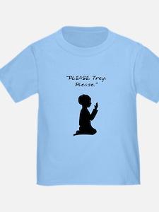 Please, Trey, Please Infant Boy T-Shirt