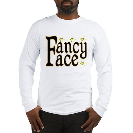 Fancy Face Long Sleeve T-Shirt