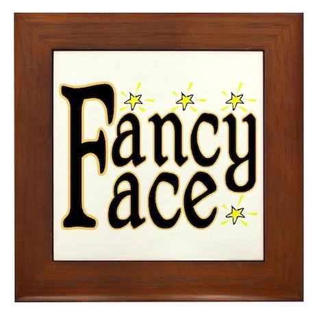 Fancy Face Framed Tile