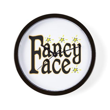 Fancy Face Wall Clock