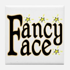 Fancy Face Tile Coaster