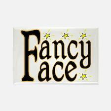 Fancy Face Rectangle Magnet