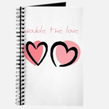 Double the Love (pink) Journal