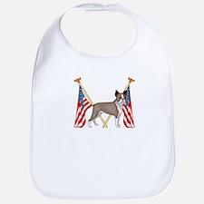 All American Boston Terrier Bib