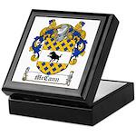 McCann Family Crest Keepsake Box
