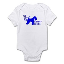 Unique Kerry blue terrier Infant Bodysuit