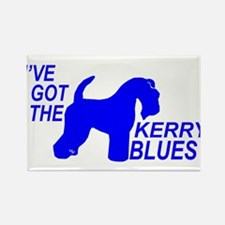 Cute Kerry blue Rectangle Magnet