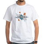 Autism Look It Up (CO) White T-Shirt