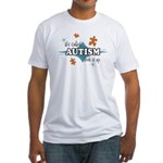 Autism Look It Up (CO)  Fitted T-Shirt